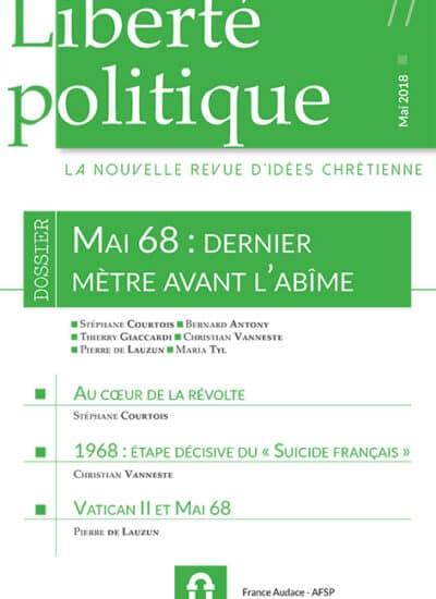 Liberté Politique n°77