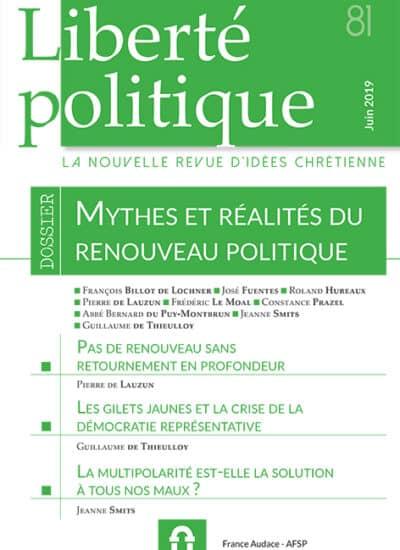 Liberté Politique n°81