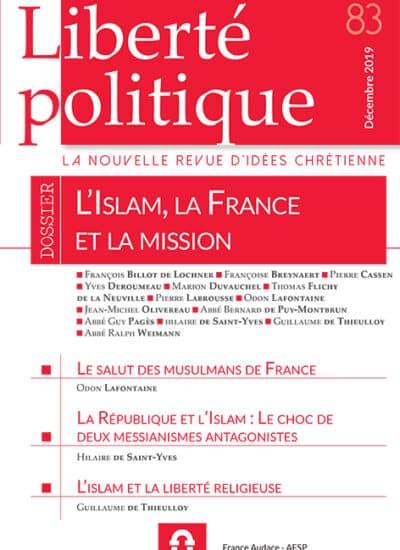 Liberté Politique n°83