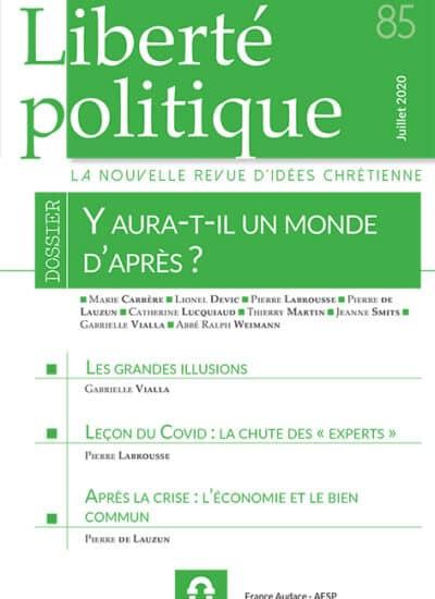 Liberté Politique n°85