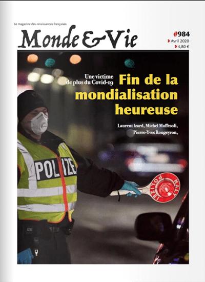 Monde & Vie n°984