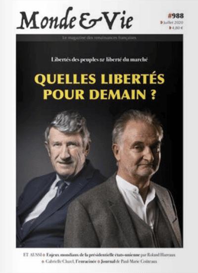 Monde & Vie n°988