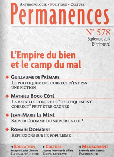 Permanences n°578