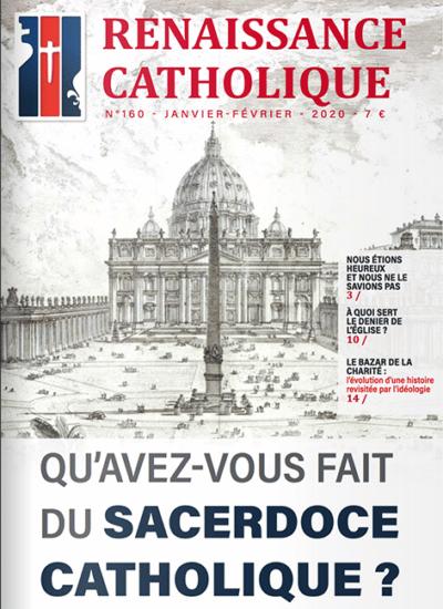 Renaissance Catholique n°160