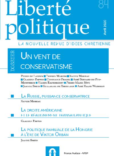 Liberté Politique n°84
