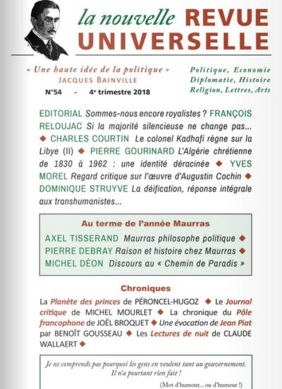 La Nouvelle Revue Universelle n°54