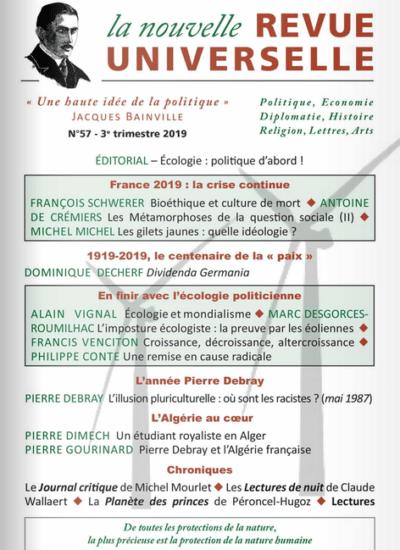 La Nouvelle Revue Universelle n°57