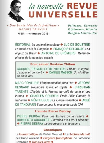 La Nouvelle Revue Universelle n°55