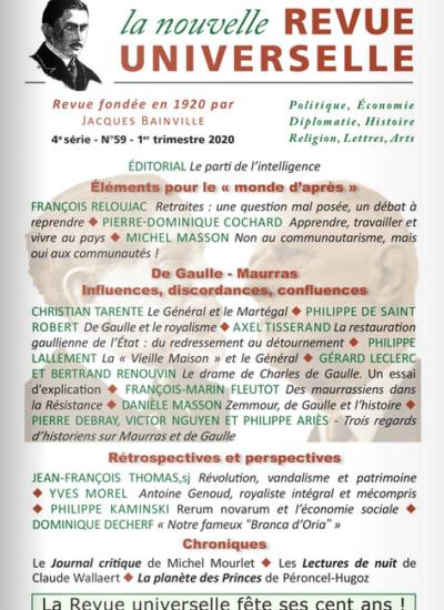 La Nouvelle Revue Universelle n°59
