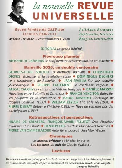 La Nouvelle Revue Universelle n° 60–61