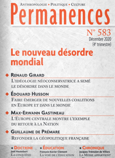 Permanences n°583