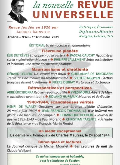 La Nouvelle Revue Universelle n°63