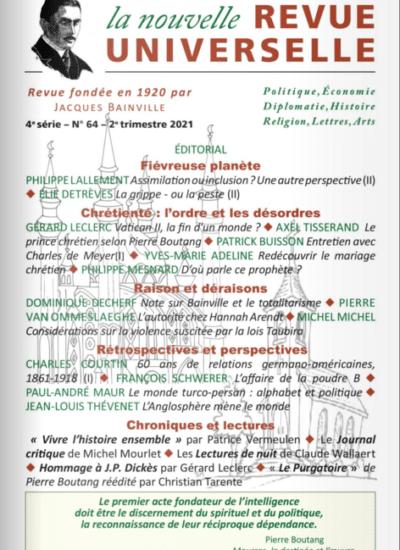 La Nouvelle Revue Universelle n°64
